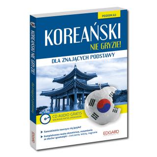 Koreański nie gryzie! dla znających podstawy (Książka + CD Audio)