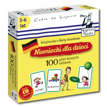 Kapitan Nauka Niemiecki dla dzieci 100...