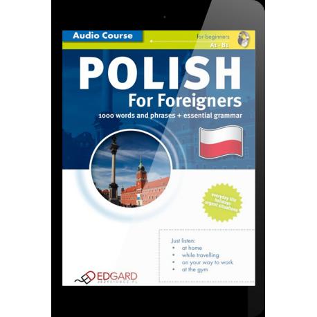 Polski dla cudzoziemców Polish For Foreigners (E-book + nagrania mp3)