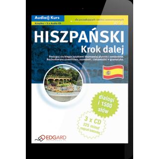 Hiszpański Krok dalej (E-book + nagrania mp3)