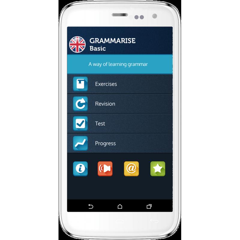 Grammarise Basic - aplikacja mobilna