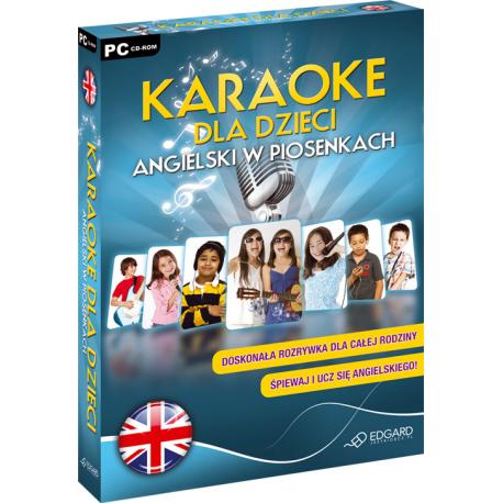 Angielski w piosenkach Karaoke dla dzieci (CD-ROM)