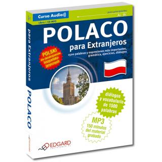 Polaco para Extranjeros Polski dla obcokrajowców - wersja hiszpańskojęzyczna (Książka + CD MP3)